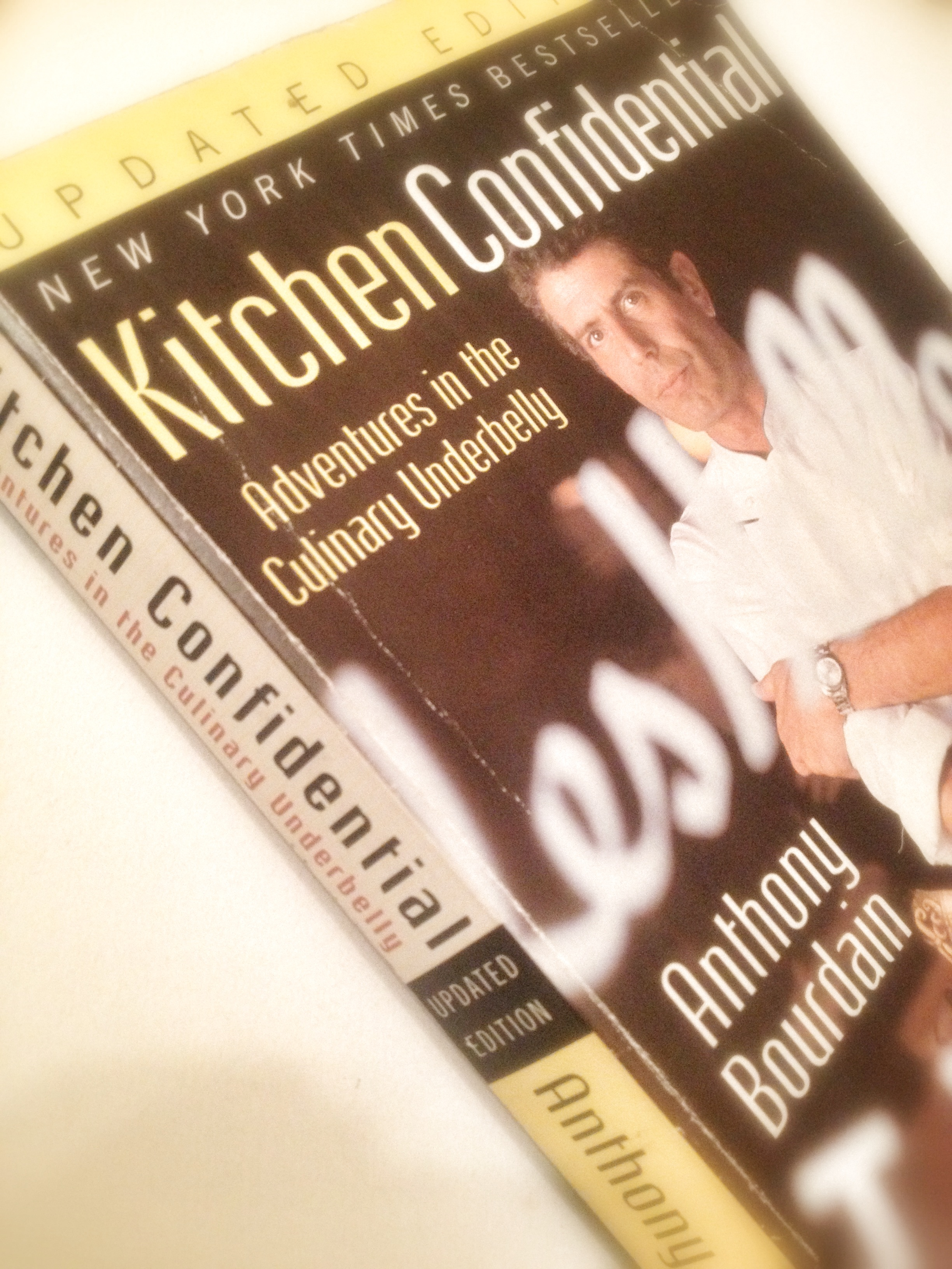 East bay dish cook book club kitchen confidential for Kitchen confidential