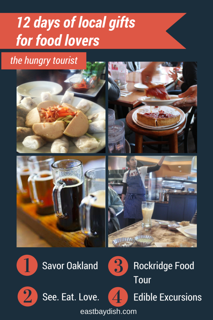 12 days of gifts, hungry tourist, east bay dish
