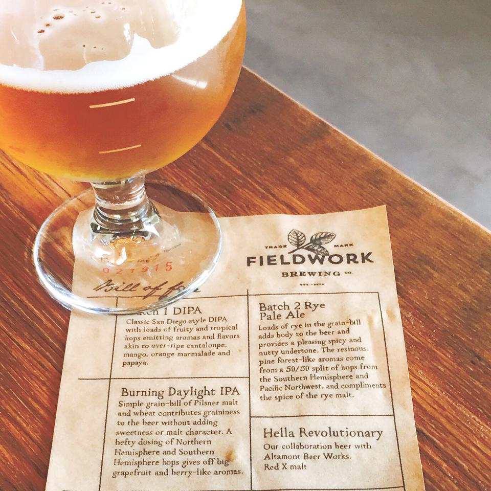 photo: Fieldwork Brewing Company