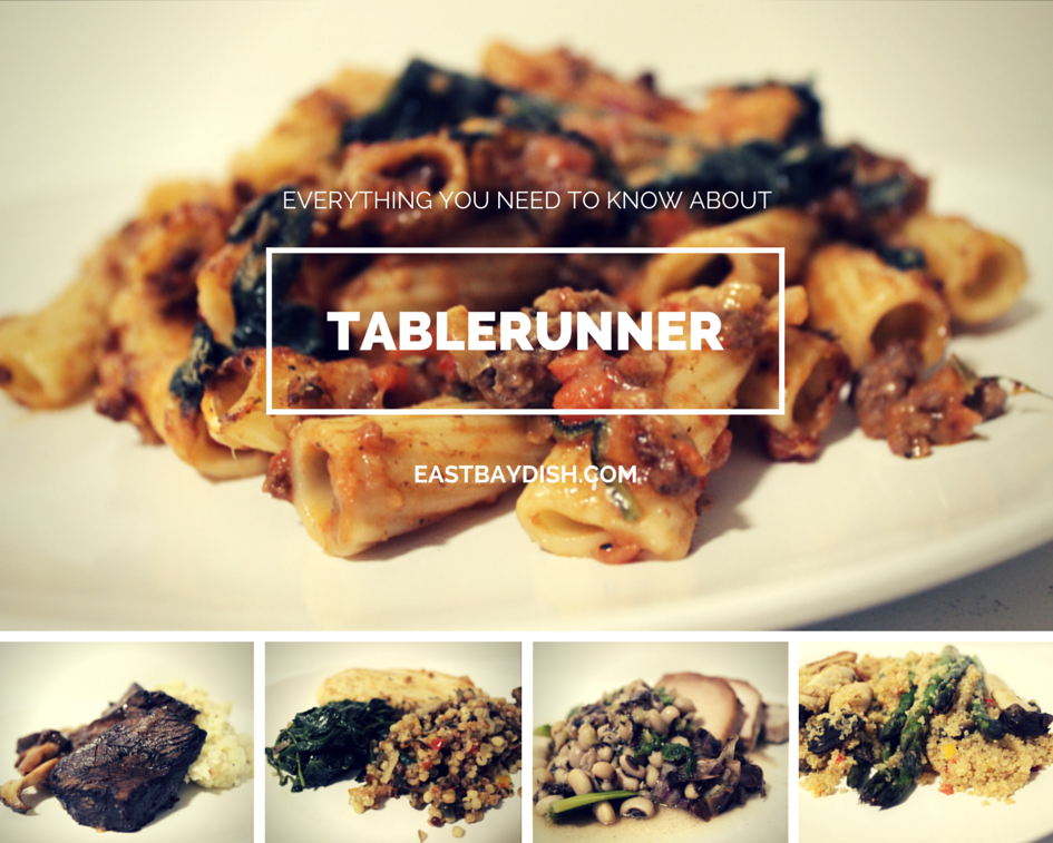 Everything you should know about Tablerunner, a new food delivery service